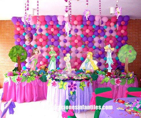 Fiesta Campanita y las Hadas
